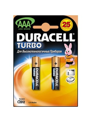"Батарейки LR 03-2 UltraPower ""DURACELL"" 2шт."
